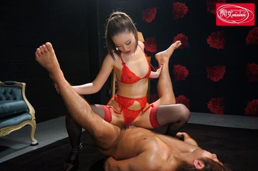 キレッキレにセックス筋肉が発達した極上痴女の騎乗位中出し 桐嶋りの